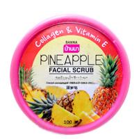 Фруктовый скраб для лица Banna Ананас 100 грамм/ Banna facial scrub Pineapple 100 gr