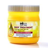 Маска для волос Genive DEMA восстанавливающая, активирующая рост и останавливающая выпадение 500 гр /DEMA Genive HAIR treatment 500 gr