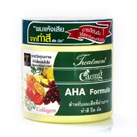 Маска для окрашенных и кудрявых волос c фруктовыми кислотами 250 мл. CARING AHA Formula