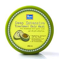 Интенсивная лечебная маска для волос с авокадо YOKO 200 мл / YOKO Deep Intensive Treatment Hair Mask 200 ml