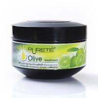 Purete Olive Treatment, Маска с натуральными оливками и бергамотом для поврежденных темных волос 300 г.