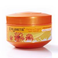 Маска с медом и йогуртом для светлых светлых волос Purete 250 ml
