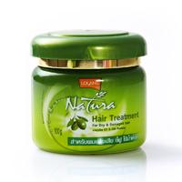 Маска лечения волос с Джожоба и протеинами шелка 100 ml/NATURA hair treatment jojoba 100 ml/