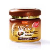 Маска  для лечения волос с Макадамией от Lolane Natura 100 ml/NATURA hair treatment macadamia butter 100 ml/