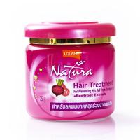 Маска лечения волос с экстрактом свеклы 100 гр/NATURA hair treatment beet root 100 gr/
