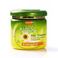 Маска для окрашенных волос с экстрактом подсолнечника Lolane Natura 250 ml/Lolane NATURA hair treatment for nourishing&color care+sunflower extract 250 ml/