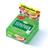 Зубная паста  с борнеолом и камфорой Supaporn, 25 гр/Supaporn original formula herbal toothpaste 25 gr