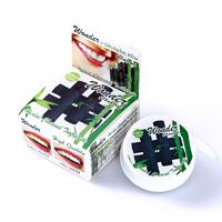 Круглая Зубная паста с углем бамбука 25 гр/Wonder charcoal toothpaste 25 gr Siam Nature