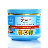 Лечебная восстанавливающая маска для роста волос Jinda 400 мл / Jinda herbal treatment oil 400 ml (blue pack)