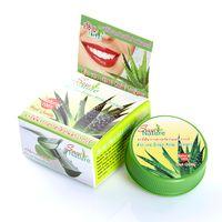 Круглая Зубная паста с алое вера 25 гр/ ALOE VERA extract herbal toothpaste SIAM NATURE 25 gr