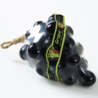Фигурное спа-мыло «Черный виноград» c натуральной люфой 120 гр / Lufa spa soap Black grape