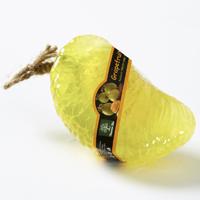 Фигурное спа-мыло «Желтый грейпфрут» c натуральной люфой  95 гр / Lufa spa soap yellow grapefruit