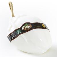 Огромное !  Фигурное спа-мыло «Кокос» c натуральной люфой 150 гр  / Lufa spa soap Coconut