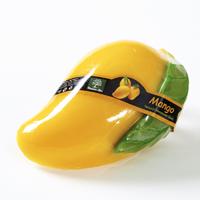 Огромное! Фигурное спа-мыло «Манго» c натуральной люфой  140 гр / Lufa spa soap mango