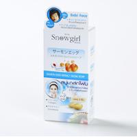 Мыло для лица с вытяжкой из красной икры Snowgirl 2 in gj 30 гр /Snowgirl Salmon Egg Extract soap 2шт по 30 гр