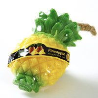 Фигурное спа-мыло «Ананас» c натуральной люфой 105 гр / Lufa spa soap Pineapple