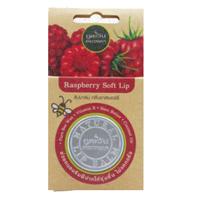 Бальзам для губ с натуральными маслами и ароматом малины Phutawan 8 гр /Phutawan Lip Balm Raspberry 8 гр