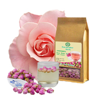 Чай из бутонов роз Высший сорт от Darawadee Herb 40gr/ Darawadee Herb Rose buds tea 40gr