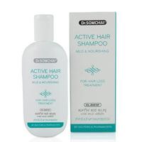 Питательный смягчающий шампунь против выпадения волос Dr Somchai 100 мл /Dr Somchai Mild & Nourishing Shampoo 100 ml