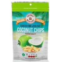 Кокосовые чипсы Coconut Merchant 40 гр/ Coconut Merchant Coconut Chips 40 gr