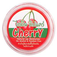 Бальзам для губ c кокосовым маслом и ароматом вишни 5 мл / Cherry natural lip moisturzer 5 ml