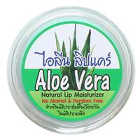 Бальзам для губ с кокосовым маслом и ароматом алоэ вера 5 мл / Aloe Vera natural lip moisturzer 5 ml