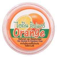 Бальзам для губ с кокосовым маслом и ароматом апельсина 5 мл / Orange natural lip moisturzer 5 ml