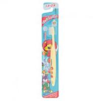 Зубная щетка для детей от 1.5 до 3 лет Kodomo / Kodomo Soft & Slim Bristles Toothbrush for Children 1.5 — 3 Years