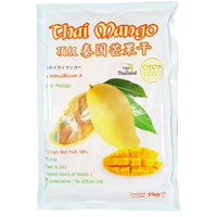 Сушеное тайское манго 190 гр/Dried thai mango 190 gr