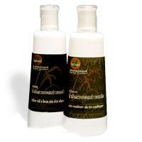 Натуральный шампунь BAIVAN(Байван) ОЛИВКОВОЕ МАСЛО Olive Oil and Hom Nin Rice Shampoo из Тайланда 300 мл