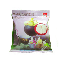 Жевательные тайские конфеты c соком мангостина 110 гр /MitMai mangosteen soft chewy candy 110 gr
