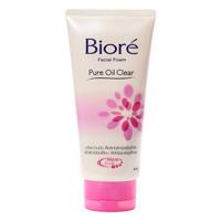 Пенка для умывания Biore матирующая 50 мл /  Biore facial foam pure oil clear 50ml