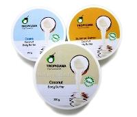 КОКОСОВЫЙ ИНТЕНСИВНЫЙ ПИТАТЕЛЬНЫЙ КРЕМ-МАСЛО ДЛЯ ТЕЛА TROPICANA (БЕЗ ПАРАБЕНОВ) 250 гр/Tropicana coconut body butter 250 gr/