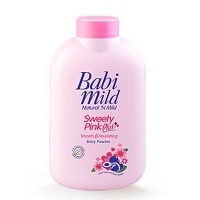 Детская присыпка Babi Mild Sweety Pink Plus 50 ml / Babi Mild Sweety Pink Plus Body Powder ml