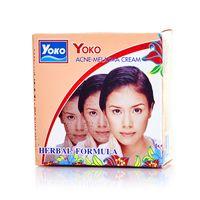 Крем  травяной выравнивающий Yoko от  акне и мелазмы 4 грамма/ Yoko akne melasma cream herbal formula 4 gr