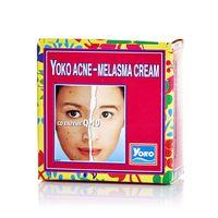 Крем отбеливающий для лица против акне и мелазмы с коэнзимом Q-10 Yoko 4 гр/Yoko Acne-Melasma Cream Co Enzyme Q-10 4 gr