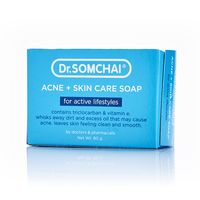 Антибактериальное мыло для лица и тела Dr Somchai 80 гр/Dr Somchai Acne & Skin Care Soap for Active Lifestyles 80 gr