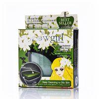 Мыло для жирной и проблемной кожи с водорослями и углем Snowgirl 30 Гр/Snowgirl Chacoal&Seaweed Facial Soap 30 gr