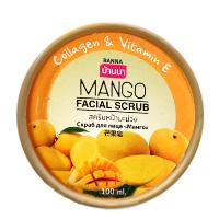 Фруктовый скраб для лица Banna Манго 100 грамм/ Banna facial scrub Mango100 gr