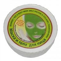 Грязевая маска с коллагеном и протеином и спирулиной 60 гр.