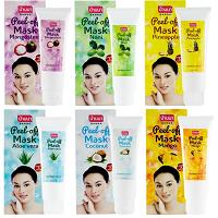 Маски-пленки с различными фруктовыми экстрактами 120 ml/BANNA Peel of mask 120 ml/