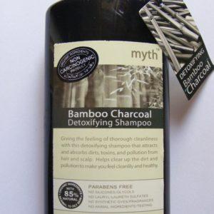 Уголь Бамбука органическая брутальная  детокс серия для волос и кожи головы от MYTH ORGANICS