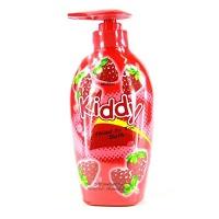 Универсальное средство (гель для душа, пена для ванн, шампунь) для детей с ароматом клубники Mistine Kiddy Head to toe 400 мл /Mistine Kiddy Head to toe Strawberry 400 ML