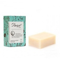 Мыло для проблемной кожи Parisut с маслом кокоса и хитозаном 100 грамм /Parisut Soap with coconut oil & chitozan anti acne formula (green) 100 gr