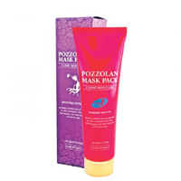 Лечебная маска против акне и угревой сыпи Pozzolan от Vitamax 150 гр / Vitamax Pozzolan Mask 150 gr