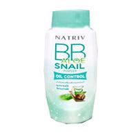 ВВ-пудра матирующая с алое вера и улиточной слизью от Natriv 40 гр / Natriv BB Aloe Snail Powder 40G