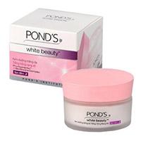 Увлажняюще-отбеливающий ночной крем для лица серии White Beauty Pinkish White от Pond's 50 гр / Pond's White Beauty Pinkish White Night Cream 50 g